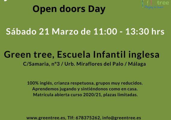 Jornada de Puertas abiertas Green Tree en Miraflores del Palo(Málaga)