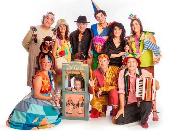 Teatro de títeres gratis para niños en directo con los Titiriteros de Binéfar
