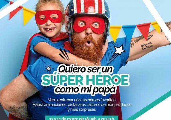 Actividades gratis para niños por el Día del Padre en Málaga Factory