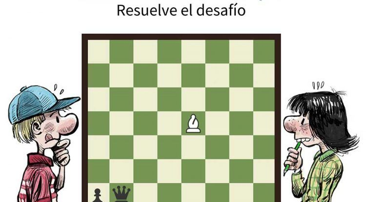 Desafíos de ajedrez diarios para niños con aulaDjaque