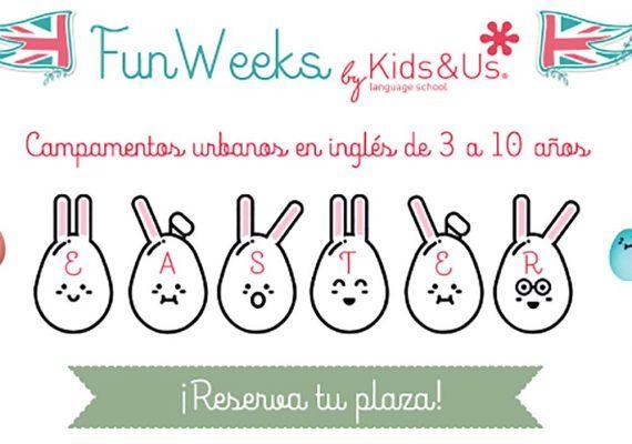 Campamento de Semana Santa en inglés de Kids&Us: la inmersión lingüística más divertida