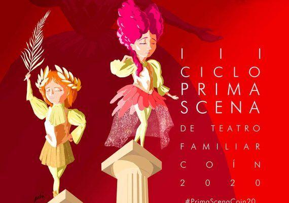III Ciclo de Teatro Familiar 'Prima Scena' de Coín durante el mes de marzo