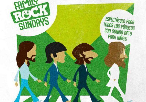 Concierto para toda la familia sobre Los Beatles en la Sala Trinchera (Málaga)