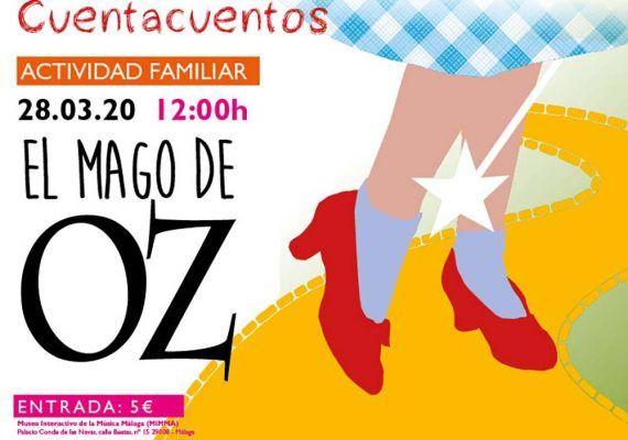 Cuentacuentos y música para toda la familia este marzo en MIMMA Málaga