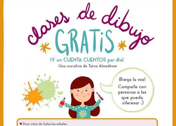 Clases de dibujo online gratis para niños con Taína Almodóvar