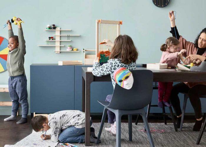 Ideas de organización y entretenimiento en casa para familias con Ikea