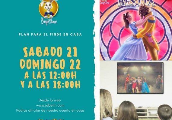 Musical infantil gratis en directo y online por el coronavirus