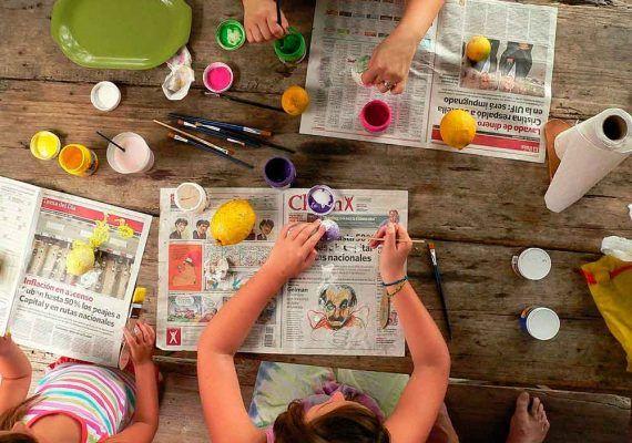 70 ideas fáciles para jugar con los peques dentro de casa