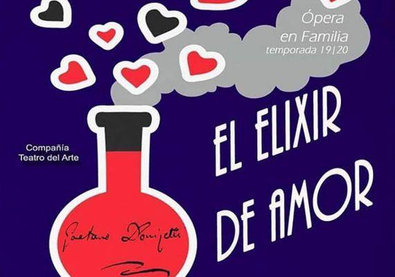 Ópera en familia 'El elixir de amor' en la Caja Blanca (Teatinos)