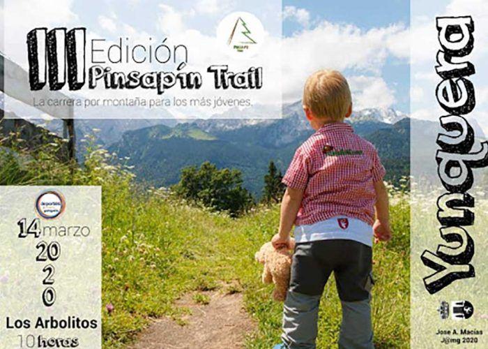 Pinsapín trail, una carrera por montaña para los niños y niñas en Yunquera (Málaga)