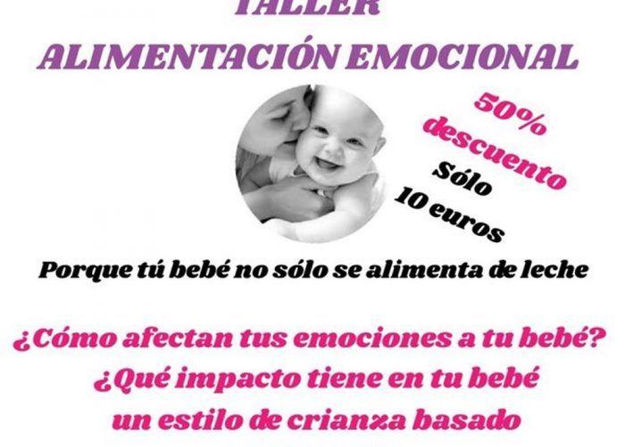 Taller de alimentación emocional para bebés en el Rincón de la Victoria