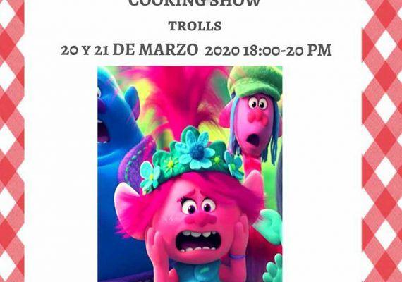 Taller de cocina para niños sobre 'Trolls' en Club Happy Málaga
