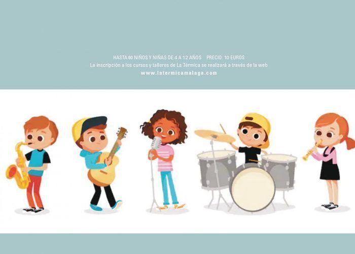 Taller 'Escuela de rock' para niños en la Casa de la Cultura de Fuengirola