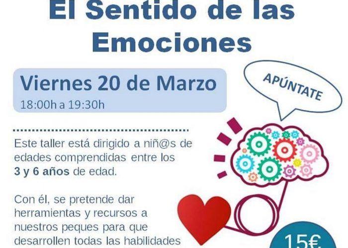 Taller infantil para la gestión de emociones en Málaga