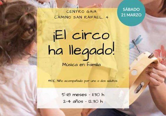Taller musical para bebés con Ba-ba Educación Musical en el Centro Gaia