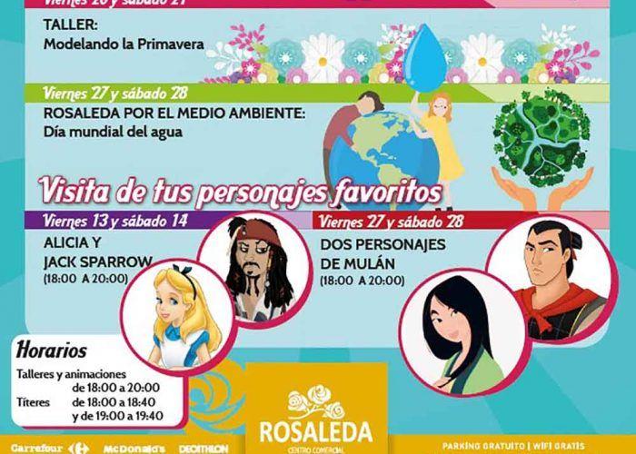 Talleres infantiles y títeres gratis este marzo en el CC Rosaleda de Málaga