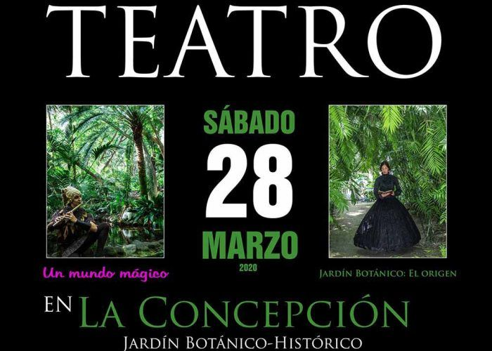 Tarde de teatro para toda la familia en el Jardín Botánico de Málaga