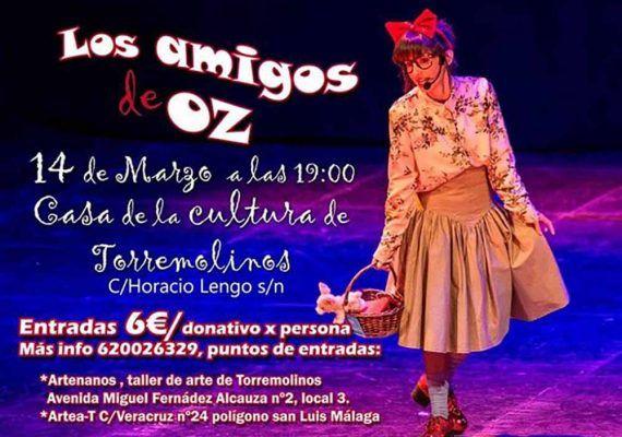 Teatro infantil 'Los amigos de Oz' en la Casa de la Cultura de Torremolinos