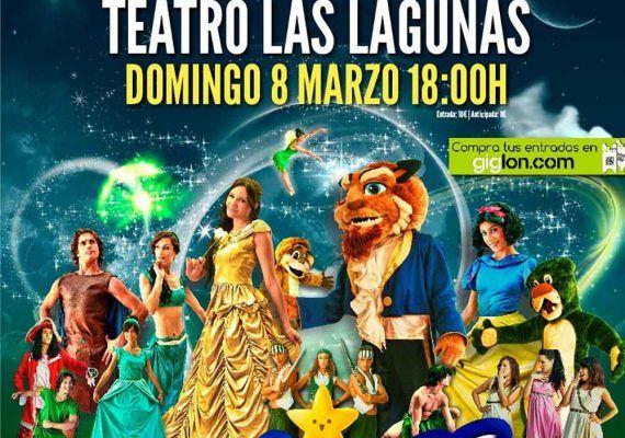 Teatro para niños 'Héroes y Princesas' en el Teatro Las Lagunas de Mijas