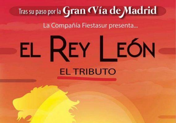Teatro para niños 'El Rey León' en Mijas con la compañía FiestaSur