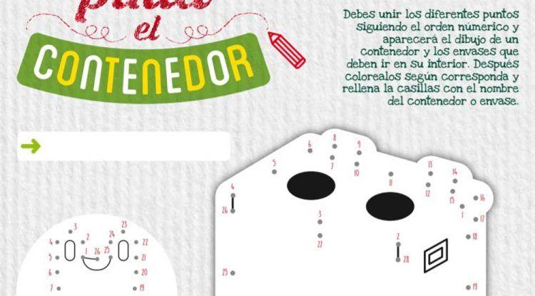 Actividades sobre reciclaje para hacer con niños en casa con Ecoembes