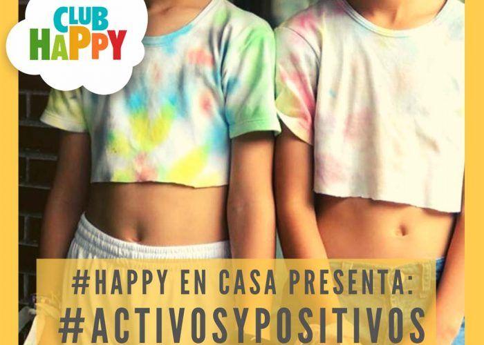 Actividades y retos divertidos para niños con Club Happy en casa