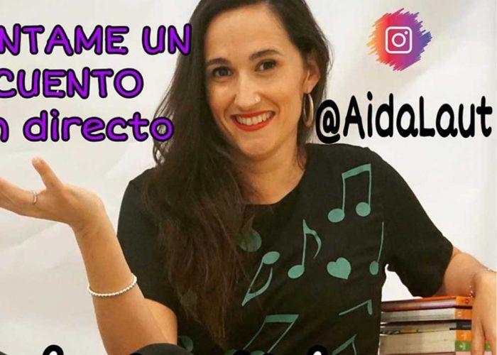 Canciones y cuentos para niños en directo con Aida Laut los domingos por Instagram