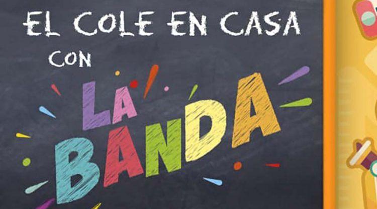 'El cole en casa con La Banda': espacio educativo para niños en Andalucía Televisión