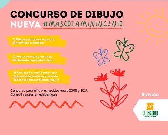 Concurso de dibujo para niños con el CC El Ingenio de Vélez-Málaga