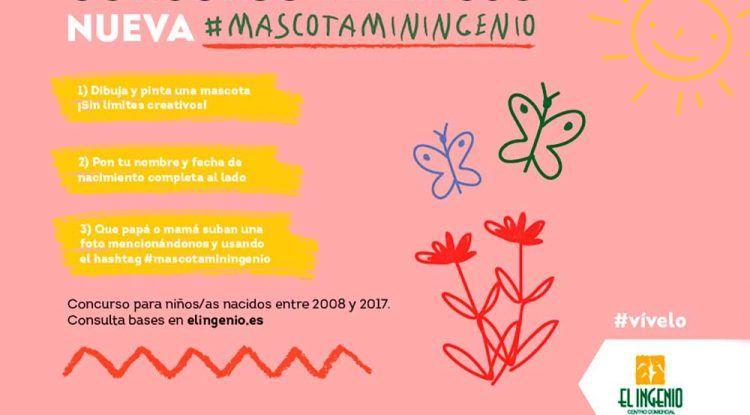 Concurso de dibujo para niños con el CC El Ingenio