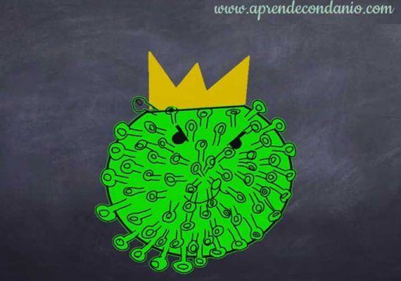 Dibujos infantiles para explicar el virus: la iniciativa de Aprende con Danio para exponer qué es el coronavirus y cómo funciona