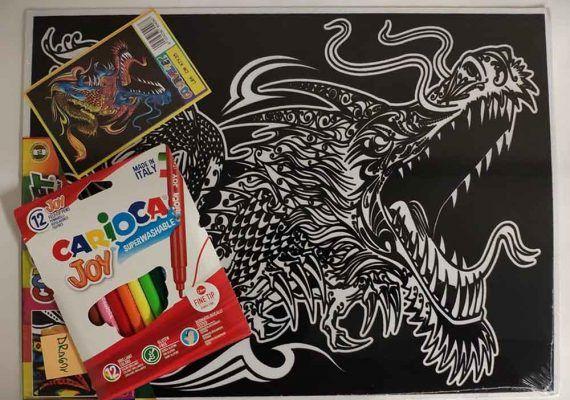 'Crea Jugando': originales láminas para colorear y maquetas para hacer con niños en casa