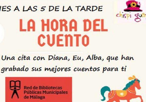 Cuentacuentos en inglés y español para niños con las Bibliotecas Públicas de Málaga