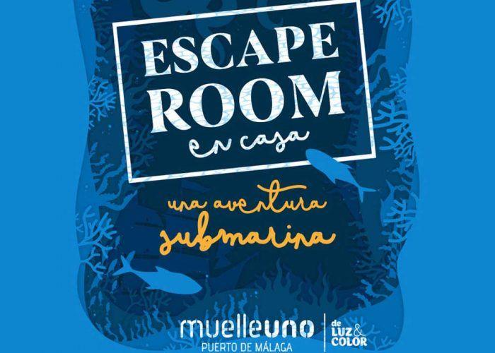 Escape room gratis en casa para toda la familia con Muelle Uno