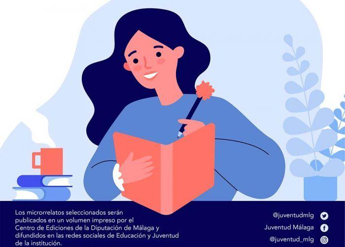Con motivo del Día del Libro, que se celebra el 23 de abril, la Diputación de Málaga ha puesto en marcha 'Escríbeme Málaga', una campaña para animar a niños y jóvenes redacten sus propios microrrelatos. La iniciativa está dirigida a nacidos o residentes en la provincia de Málaga con edades comprendidas entre los 14 y 30 años.