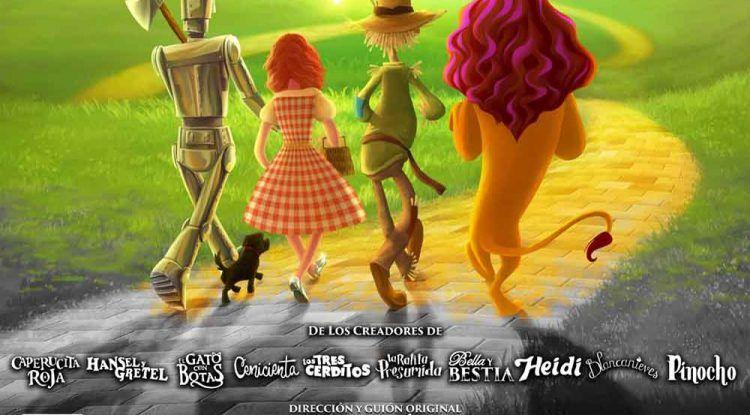 Teatro para niños 'El Mago de Oz' online y gratis con Jabetín Teatro este fin de semana