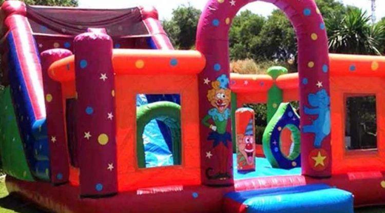 Castillos hinchables de alquiler para tu celebración infantil o evento en Málaga capital y provincia