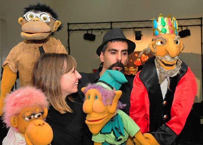 Teatro de títeres gratis y online todas las tardes con el Grupo Teatral Cuesta Arriba