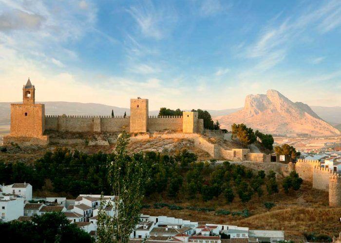Excursión con niños: Recinto Monumental de la Alcazaba de Antequera