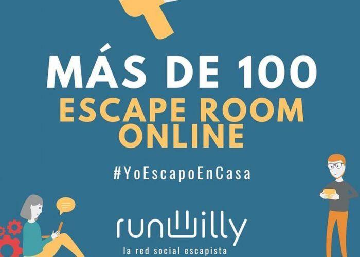 Escape rooms online para toda la familia con la red social Runwilly