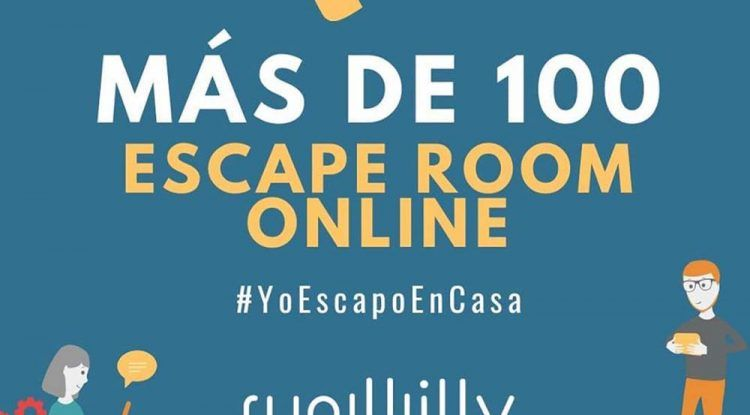 Escape rooms online para toda la familia con la red social Runwilly
