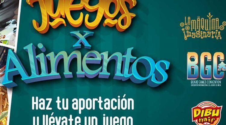 'Juegos por alimentos': una campaña solidaria de La Máquina Imaginaria por el coronavirus