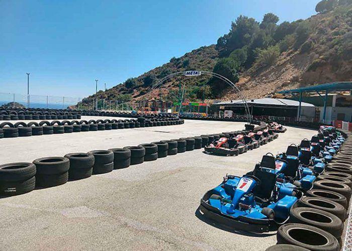 Karting para niños en Málaga