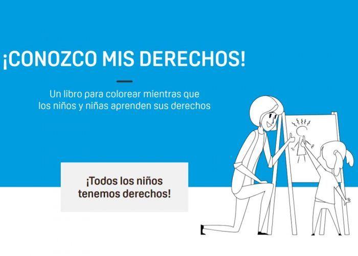 Libro gratis para colorear y aprender los valores de los niños con Aldeas Infantiles SOS