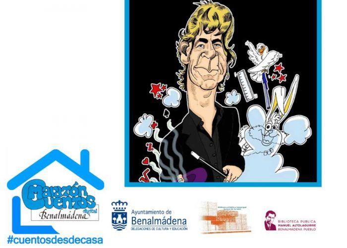 Maratón de cuentos para niños online y gratis con el Ayuntamiento de Benalmádena