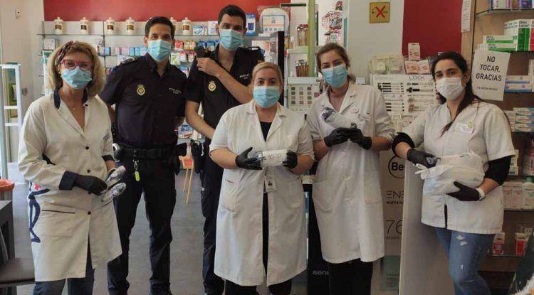 Mascarillas gratis para niños en 34 farmacias de Málaga