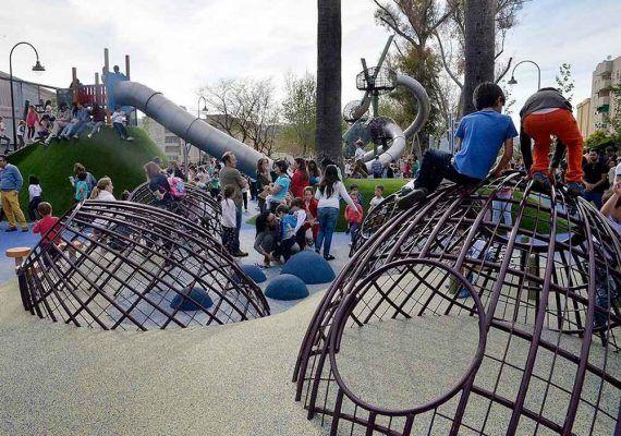 Actividades con niños en Antequera en el Parque de La Negrita