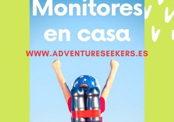Servicio de monitor en casa para niños con Adventure Seekers
