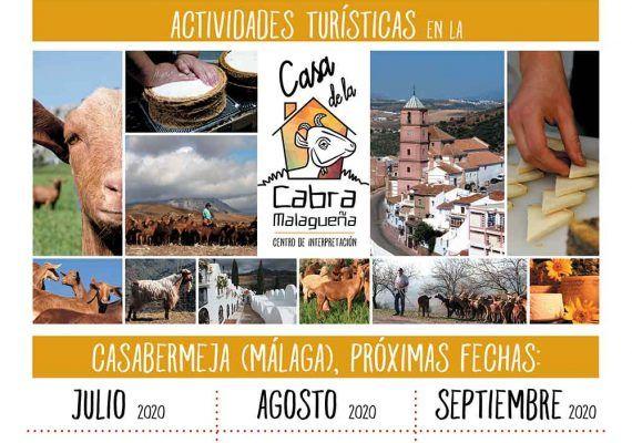 Días en familia entre cabras y quesos en Casabermeja este verano