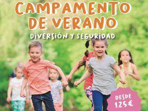 Campamento de verano para niños con deporte, animales y talleres en Verdecora Málaga
